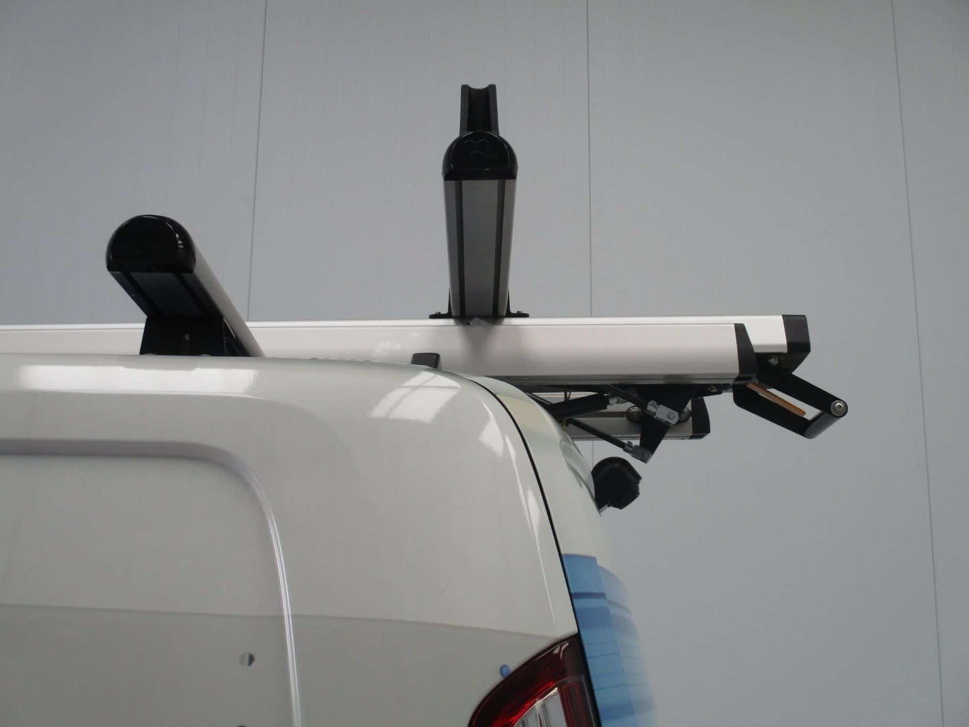 roof ladder storage system