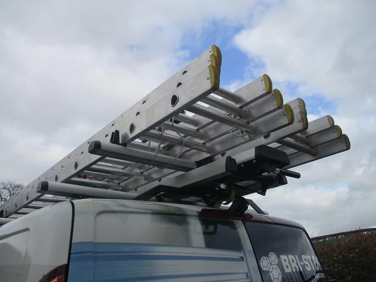 ladder storage for vans