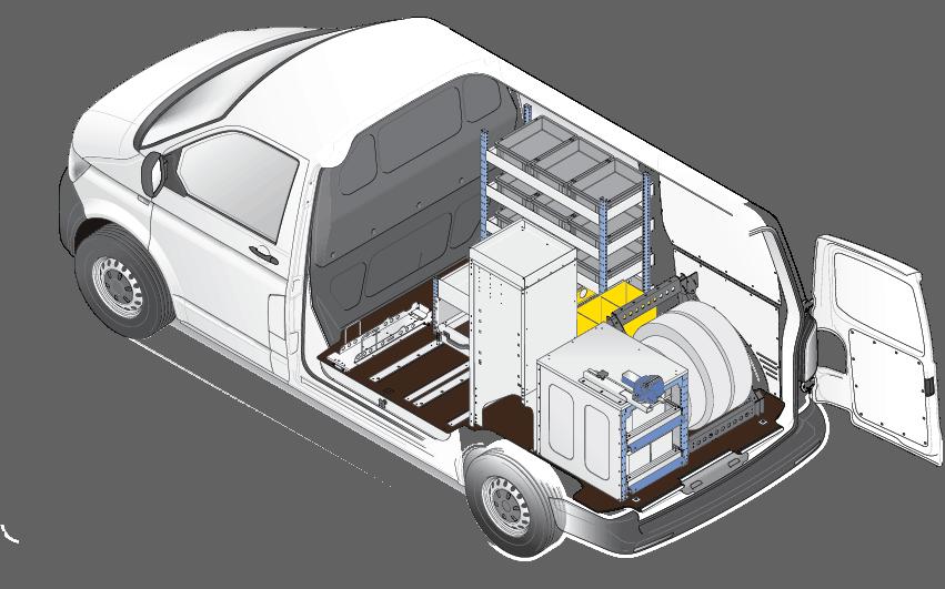 Automotive van racking